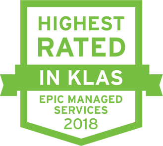 2018 Highest Rated KLAS icon