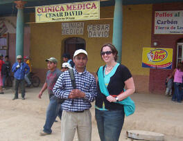 Alicia-with-Clemente-our-troop-interpreter-and-local-guide-outside-of-local-clinic_Honduras-2009_small