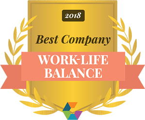 Comparably work-life-balance-2018