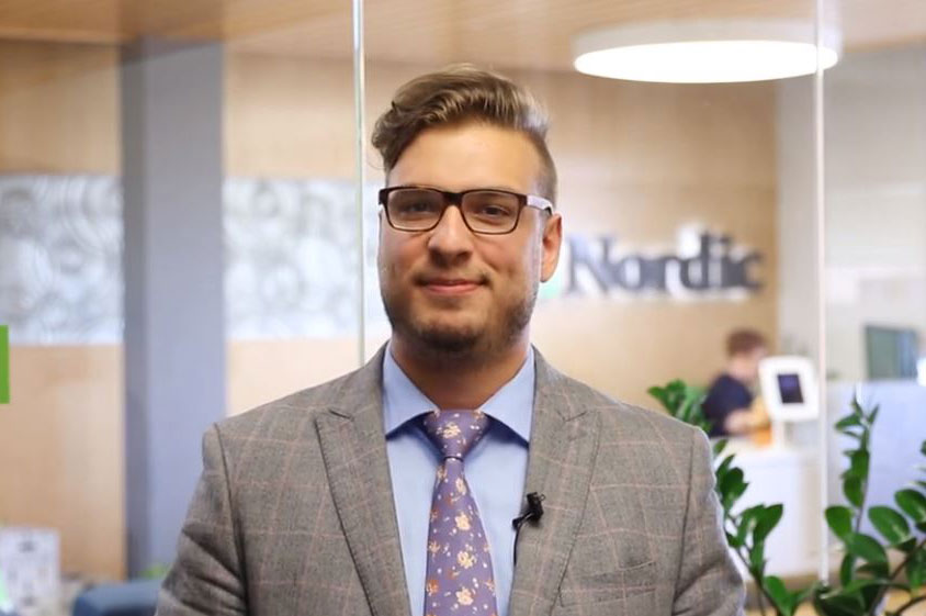 Nordic Data & Analytics Services Delivery Manager Eric Pennington