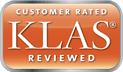 KLAS reviewed logo