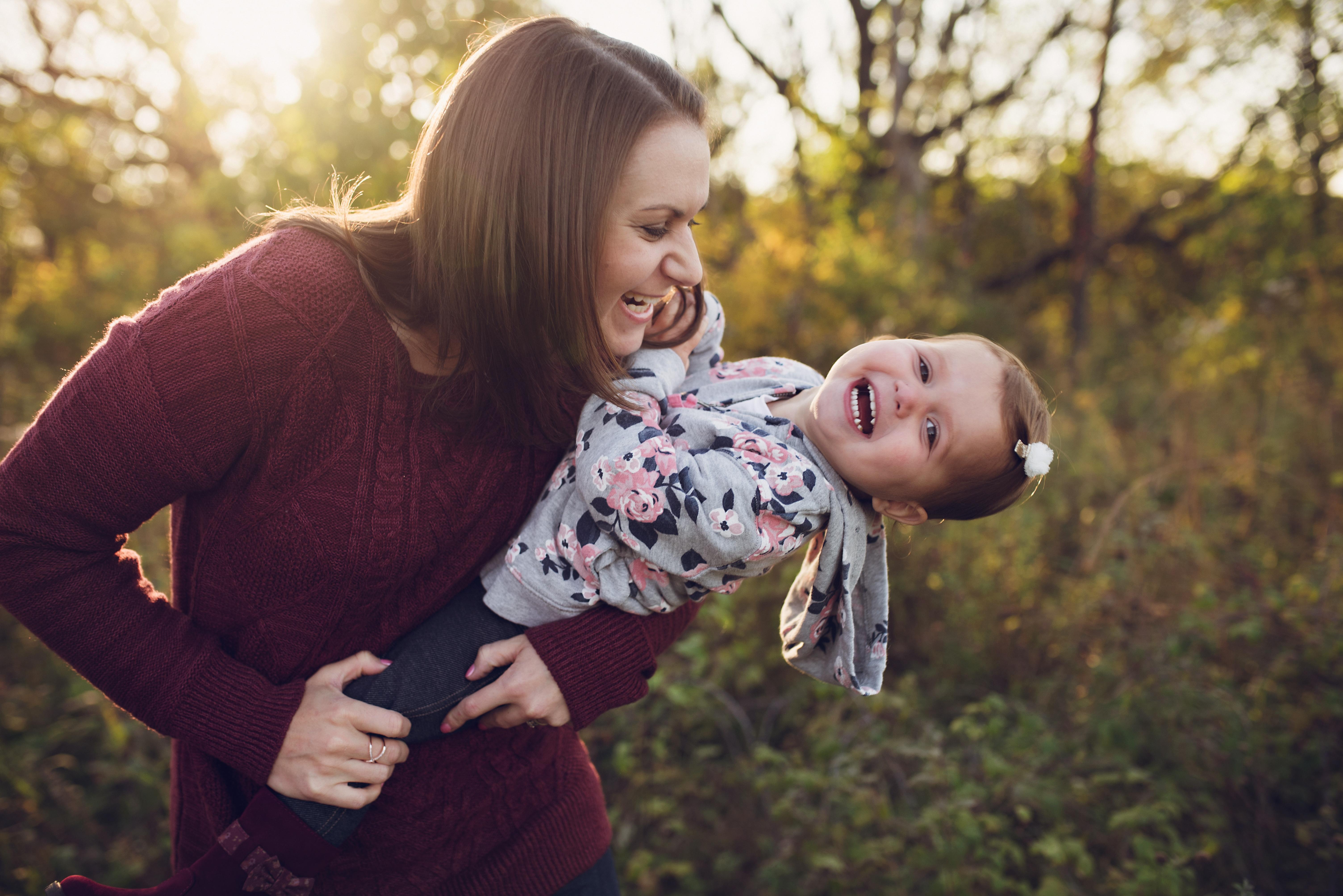Jessie Gulden with baby - photo by Katie Gardner Photography