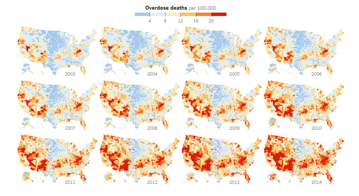 Ovderdose deaths