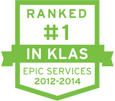 Ranked 1 in KLAS 2012 though 2014 shield