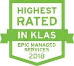 Highest Rated by KLAS AMS & Help Desk 2018