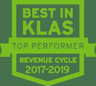 2019 Best in KLAS Top Performer icon