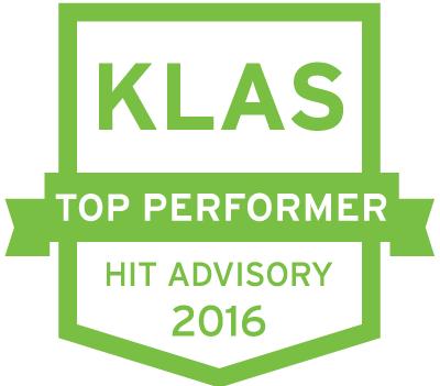 KLAS Top Performer HIT Advisory 2016.png
