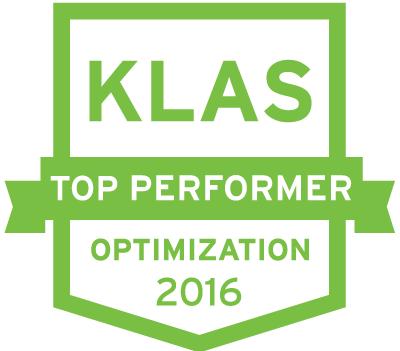 KLAS Top Performer Optimization 2016