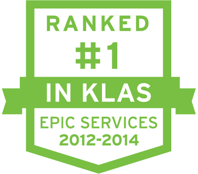 Ranked #1 in KLAS 2012-2014