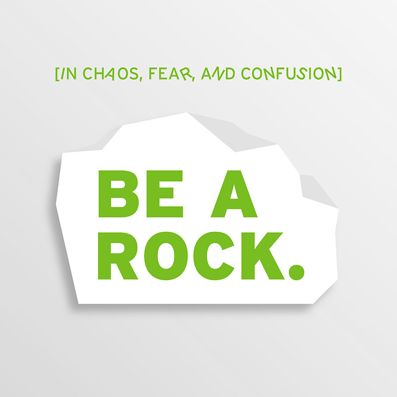 Be A Rock-Small