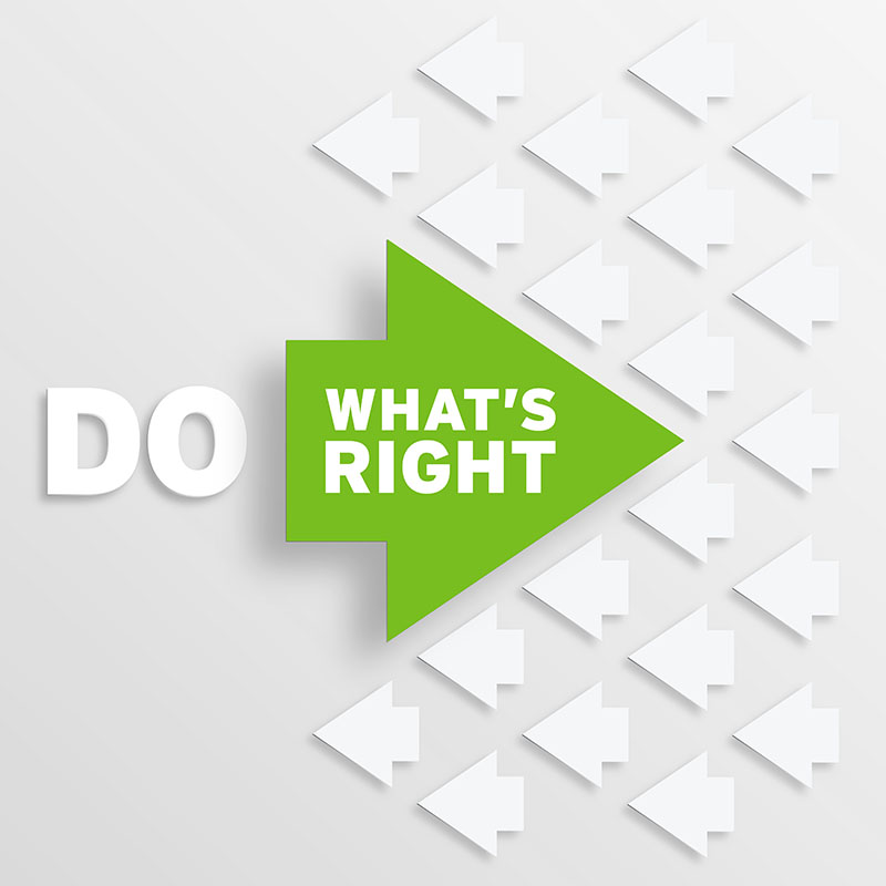 Do Whats Right-Small