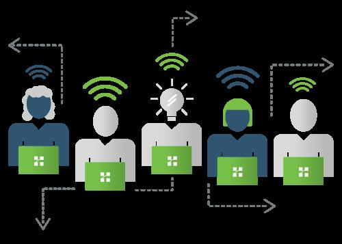 Managed Services Illustration