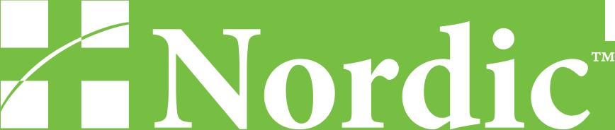Nordic logo white